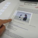 Компания Fujitsu превратила бумагу в touch screen