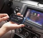 Автомобильный монитор, дублирующий экран смартфона