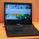 Создан первый в мире управляемый глазами ноутбук