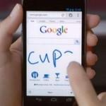 Корпорация Google предоставила возможность писать на своих ресурсах на украинском от руки