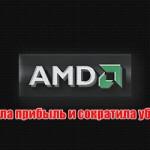 AMD подняла прибыль и сократила убытки