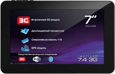 Explay показала двухъядерный планшет  ActiveD 7