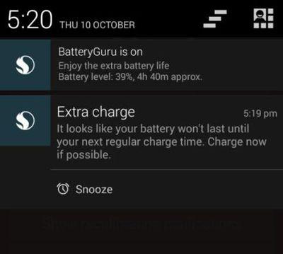 Программисты создали приложение, которое позволяет экономить заряд батаре