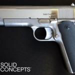 На 3D принтере напечатали боевой пистолет