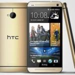 Смартфон HTC One получил золотистый корпус