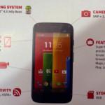 Новые данные о Motorola Moto G