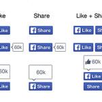 Facebook сделал редизайн кнопок