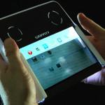 Grippity – первый планшет с полупрозрачным экраном