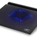 Представлена охлаждающая подставка для ноутбука со встроенной аудиосистемой