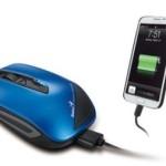 Предоставлена мышь, способная заряжать смартфоны
