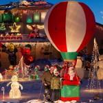 Рождественские огни: 22000 лампочки с удаленным управлением через Интернет