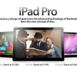 Apple готовит новый планшет под названием iPad Pro