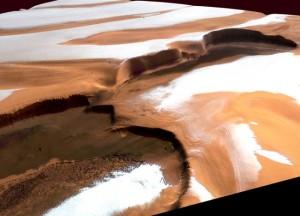 На Марсе выпал снег, а Украина встретит Новый Год без него