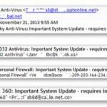 Пользователям рассылаются фишинговые письма, якобы от антивирусных компаний