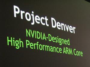 NVIDIA представила свой первый 64-битный процессор Tegra K1 с двумя ядрами Denver
