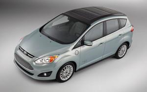 Концепт-кар Ford C-MAX Solar Energi с солнечной батареей будет показан на CES
