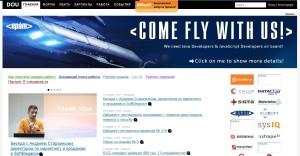 Портал украинских программистов Dou.ua закрыт