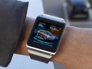 Новое приложение для часов Galaxy Gear позволит управлять BMW i3