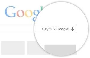 Система голосового поиска «OK Google» скоро станет доступной в Chrome