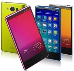 Sharp сделала первый в мире 4.5-дюймовый смартфон с разрешением Full HD