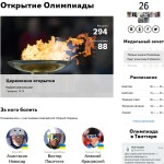Яндекс запустила портал «Зимние игры – 2014» к открытию Олимпиады в Сочи
