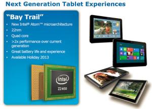 Intel будет доплачивать производителям планшетов за использование своих чипов