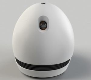 Keecker – автономно передвигающийся Android-робот с проектором