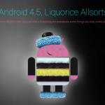 Когда выйдет операционная система Android 4.5?
