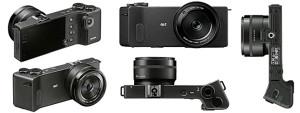 Создана компактная фотокамера необычной формы Sigma dp Quattro