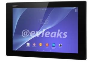 В Сети появились официальные снимки планшета Sony Xperia Tablet Z2