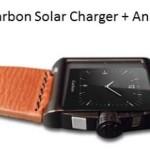 В аналоговые часы Carbon встроена солнечная батарея и зарядное устройство