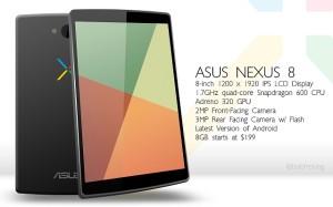 Следующий планшет Nexus будет построен на однокристальной системе Intel Moorefield?