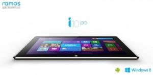 Планшет Ramos i10 Pro будет работать под управлением ОС Windows 8.1 и Android