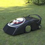 Американские ученые создали робота-газонокосилку, который питается травой