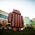 Доля Android KitKat продолжает расти
