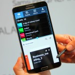 А у Samsung Galaxy Note 4 дисплей убежал!