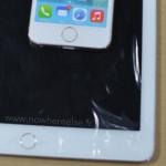 Видео с макетом iPad Air 2 с Touch ID в сравнении с iPad Air