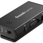 Creative Sound Blaster E: звуковые карты для ноутбуков, планшетов и смартфонов