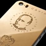 Первую партию позолоченных Путинфонов распродали за один день