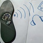 Российский программист предложил управлять смартфоном при помощи стельки