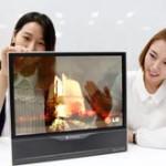 Телевизор можно будет сворачивать в трубочку, как коврик, - доказала LG