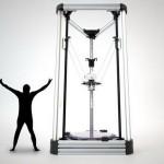 В Японии создали 4-х метровый 3D-принтер