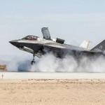 Истребитель F-35B прошел испытание боковым ветром