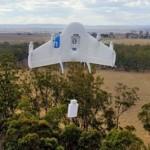 Google протестировал доставку с помощью дронов