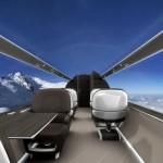 Дизайнеры представили концепт «прозрачного» самолета