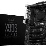 MSI представила материнскую плату X99S SLI Plus с поддержкой DDR4 и Haswell-E