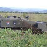Робот «Уран-6» разминирует сельхозугодия в Чечне