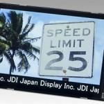 ЖК-дисплеи Japan Display сохраняют высокую скорость реакции при температуре ниже нуля