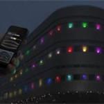 Здание университета в Стокгольме превратили в гигантскую версию игры Mastermind (ВИДЕО)