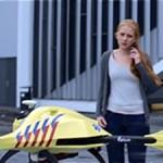 Голландский студент создал прототип дрона для экстренной реанимации (ВИДЕО)